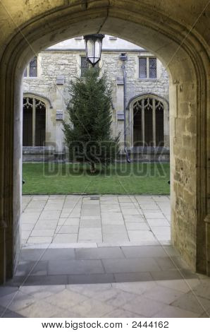 University Of Oxford, Christ Church College Doorway