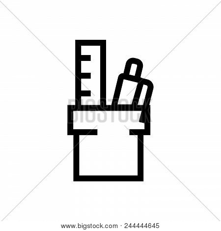 Office Equipment Vector Icon On White Background. Office Equipment Modern Icon For Graphic And Web D