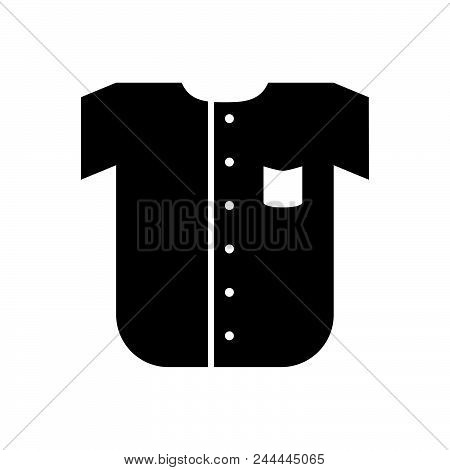 T-shirt Vector Icon On White Background. T-shirt Modern Icon For Graphic And Web Design. T-shirt Ico