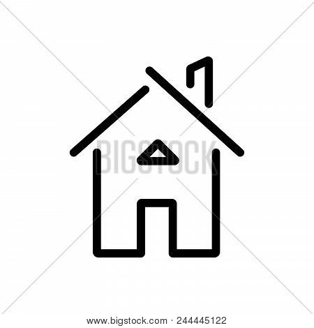 House Building Outlined Symbol Of Private Home. House Icon. House Icon. House Icon. House Icon