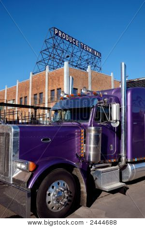 Big Purple Truck