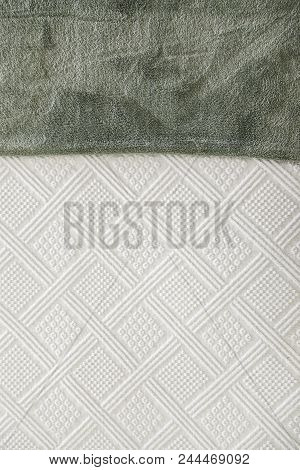 Cotton Bed Cover For Winter, Bedding Detail, Textile