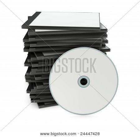 Blank Cd Or Dvd Case