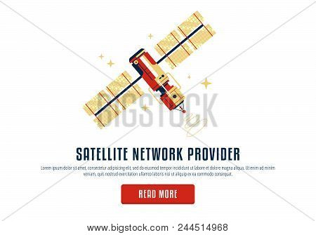 The Satellite In The Space