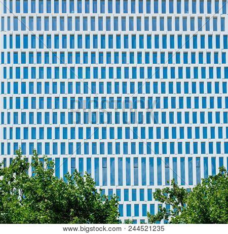 Modern Office Building Facade - Skyscraper Architecure Exterior -