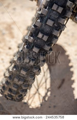 Image Of A Motorbike Tire