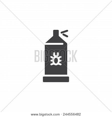 Bug Sprayer Vector Icon. Filled Flat Sign For Mobile Concept And Web Design. Bug Disinfection Simple