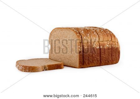 Isolated Loaf Of Bread
