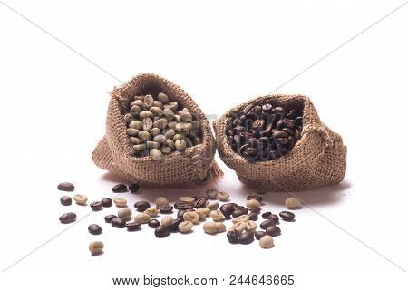 Unroasted Coffee Beans