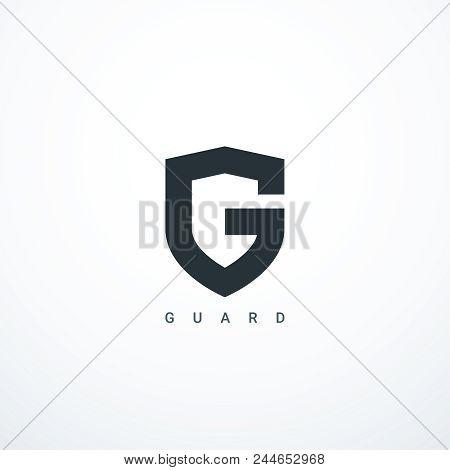Guard Shield Icon. Guard Logo. Vector Illustration Eps 10
