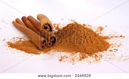 Cinnamon - Three Sticks And Powder