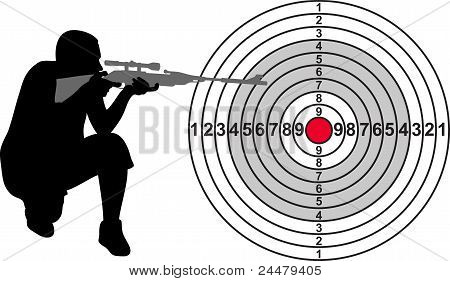 Target For Shooting Range