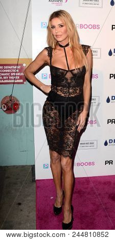 LOS ANGELES - JUN 7:  Brandi Glanville at the 4th Annual Babes for Boobs Live Bachelor Auction at the El Rey Theater on June 7, 2018 in Los Angeles, CA