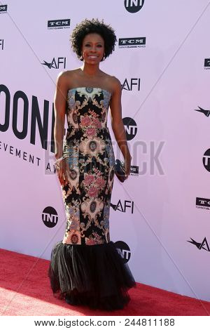 LOS ANGELES - JUN 7:  Karimah Westbrook at the American Film Institute Lifetime Achievement Award to George Clooney at the Dolby Theater on June 7, 2018 in Los Angeles, CA