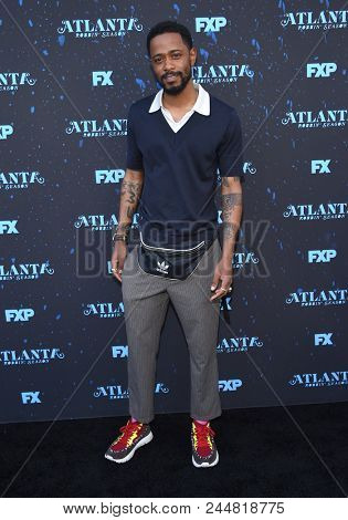 LOS ANGELES - JUN 08:  Lakeith Stanfield arrives to the