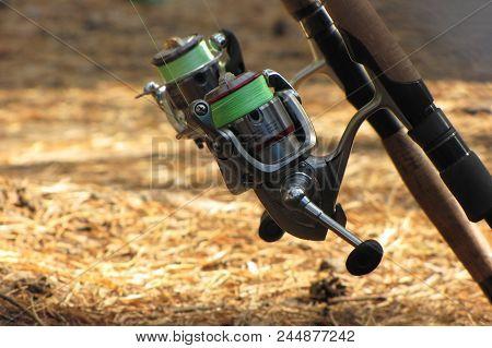 Fishing Spinning, Fishing On The Lake, Tackle