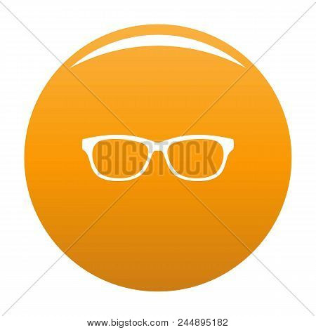 Photochromic Spectacles Icon. Simple Illustration Of Photochromic Spectacles Vector Icon For Any Des