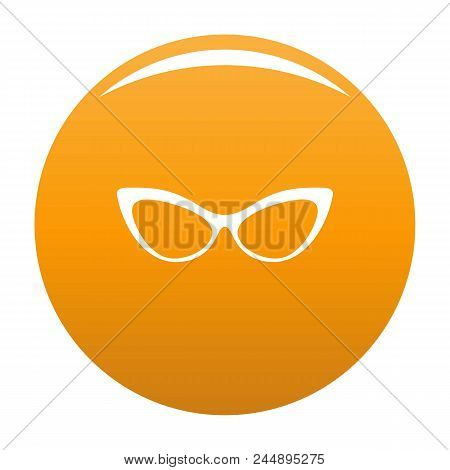 Spectacles Without Diopters Icon. Simple Illustration Of Spectacles Without Diopters Vector Icon For