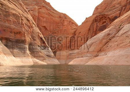 Summer Time In Lake Powell Of Utah