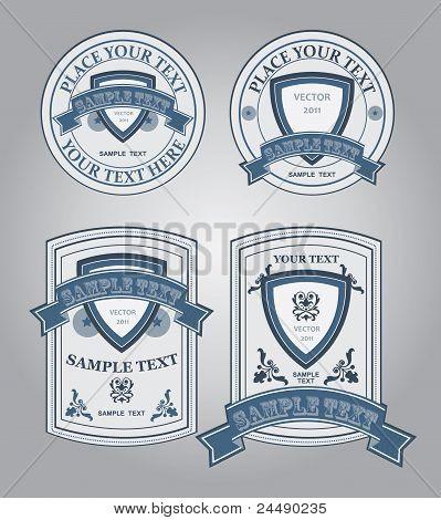 Old Blue Labels