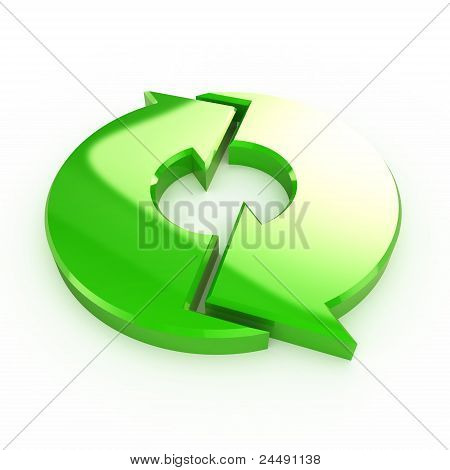 Green Process Arrow