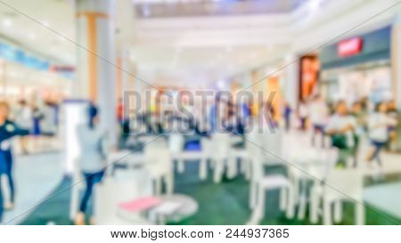 Abstract Blurred Department Store - Blurred Background Of Colorful And Freshness Modern Retail, Depa