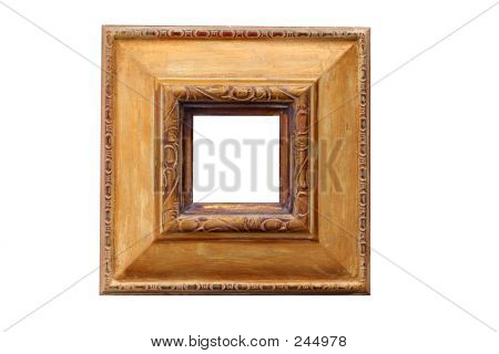 Ornate Carved Frame