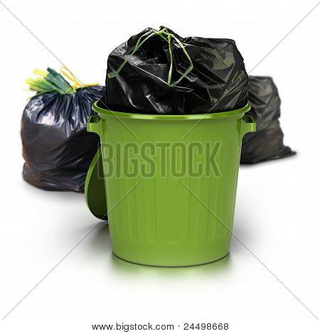 green garbages