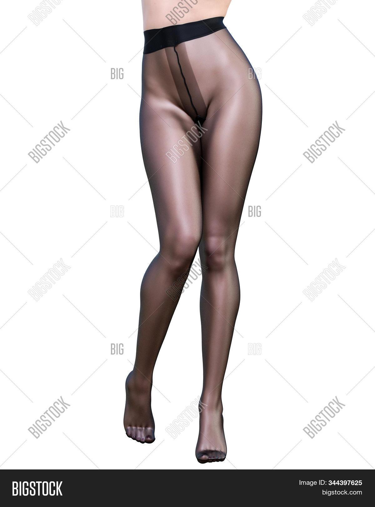 Long sexy nylon legs