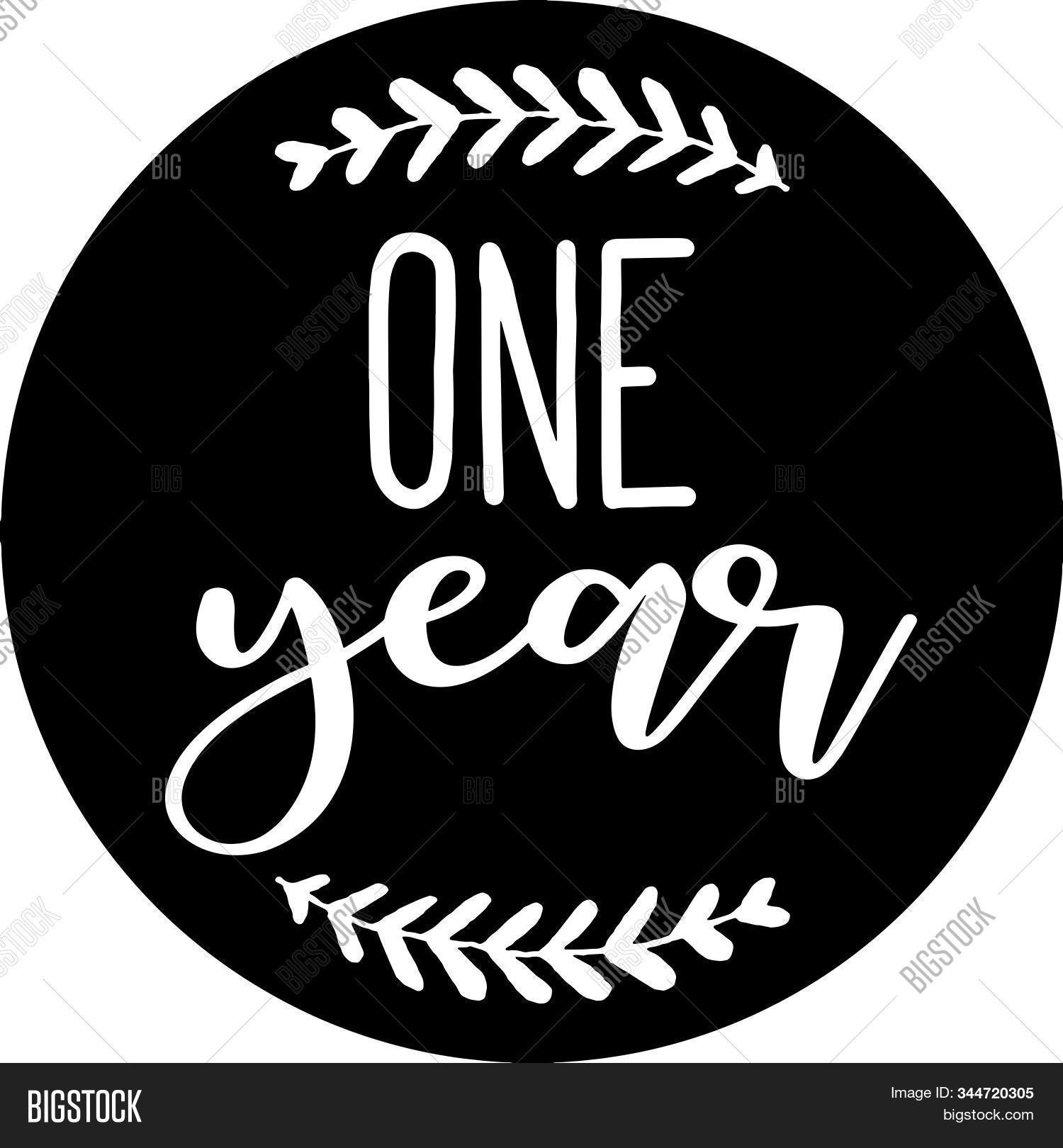 One Year Baby Vector Photo Free Trial Bigstock