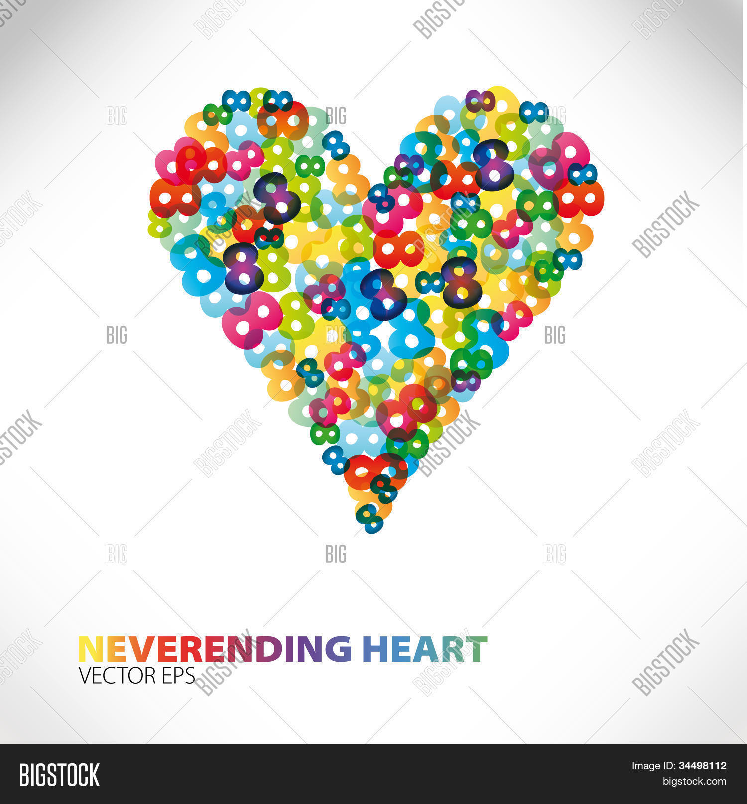Love Neverending Vector Photo Free Trial Bigstock