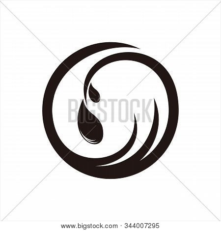 Water Icon, Isolated On A White Background. Trendy And Modern Icons. Symbol For Graphic. Design Icon