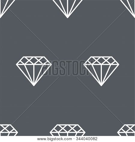 Mineral. Vector Patterns In A Linear Style. Geology, Jewel Crafting, Gemology. Vector Illustration.