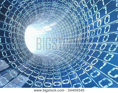 Internet Kabel Konzept