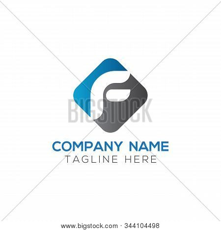 Initial Square Letter F Logo With Modern Typography Vector Template. Creative Abstract Letter F Logo