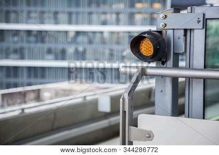 Traffic Light, Railway Signalling Is A System Used To Direct Railway Traffic And Keep Trains Clear O