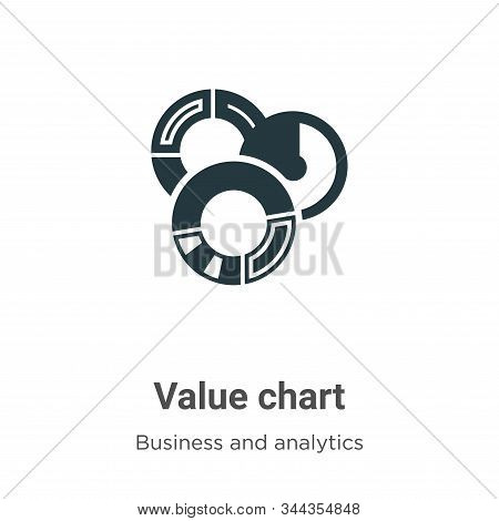 Value chart icon isolated on white background from business and analytics collection. Value chart ic