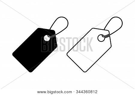 Tag Vector Icons Isolated On White Background. Price Label Vector Sign. Discount Sale Offer Price Si