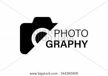 Camera Vector Icon Logotype Photography. Creative Vector Concept. Vector Logo Design. Eps 10