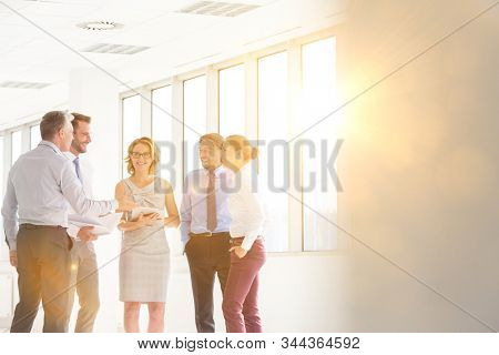 Business people on meeting in office