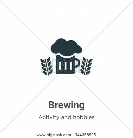 Brewing icon isolated on white background from activity and hobbies collection. Brewing icon trendy