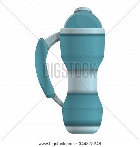 Vacuum Insulated Water Bottle Icon. Cartoon Of Vacuum Insulated Water Bottle Vector Icon For Web Des