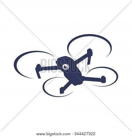 Drone Sky Vision Photography Logo Icon Vector