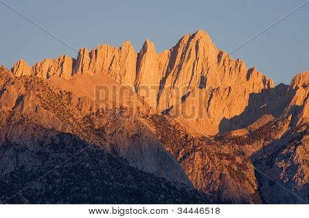 Mount Whitney Sunrise
