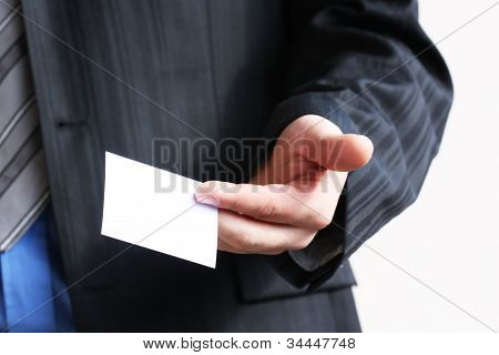 Business Card To Give