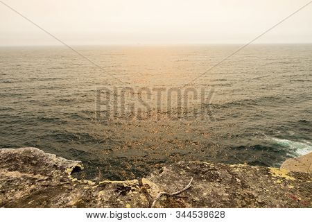 View Of The Gap Ocean Cliff At The Watsons Bay Of Sydney