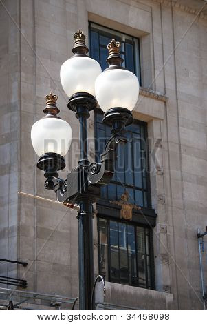 Streetlamp In London