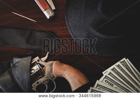 Main Vintage Italian Mafia Gangster Accessories Kit