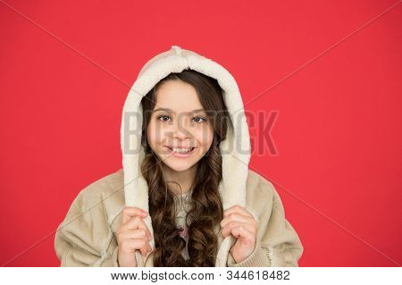 Full Of Happiness. Stylish Look For Every Season. Winter Weather Forecast. Wear Warm Clothes When It