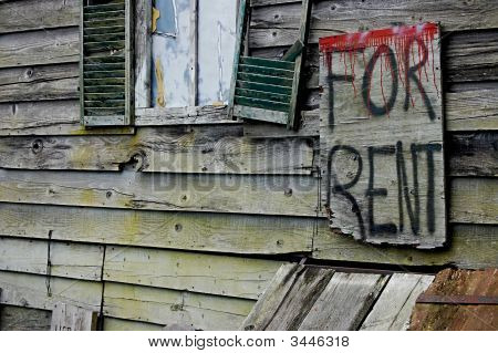 Scary House For Rent